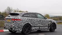 2019 Jaguar F-Pace SVR spy photos