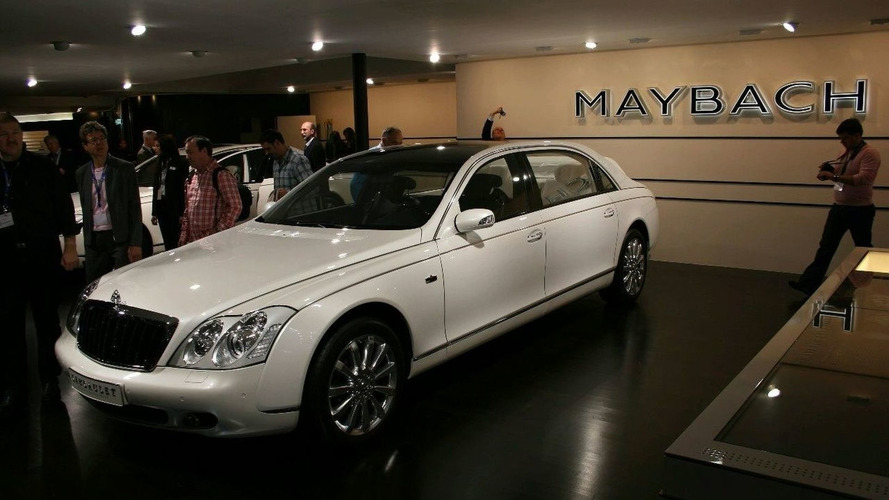 European Debut for Maybach Landaulet at Geneva