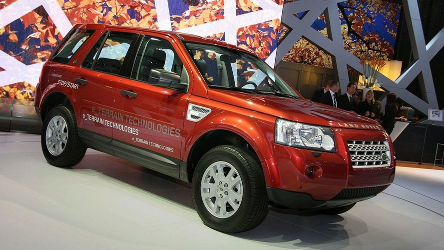 Land Rover Freelander 2 Gets Fuel-Saving Stop/Start System