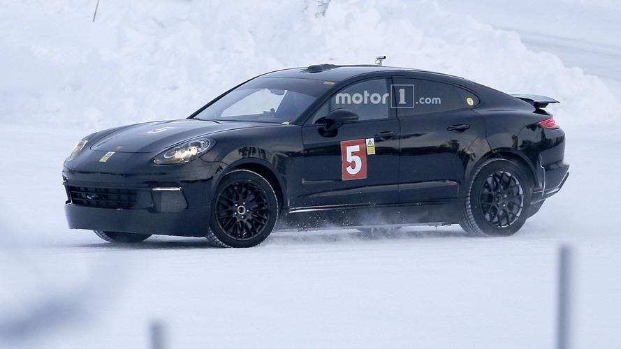Porsche Mission E, Panamera gövdesinin içinde yakalandı