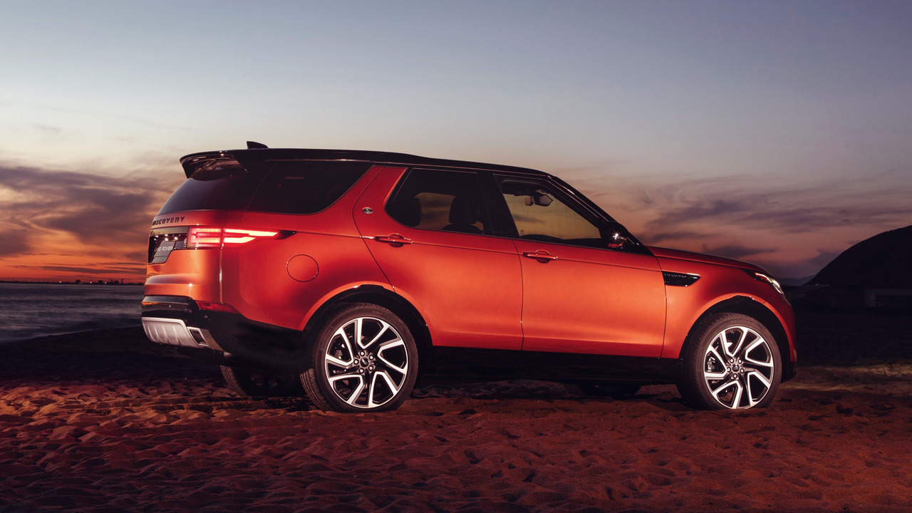 Land Rover Discovery Dynamic Design