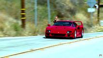 Ferrari F40 on Jay Leno's Garage