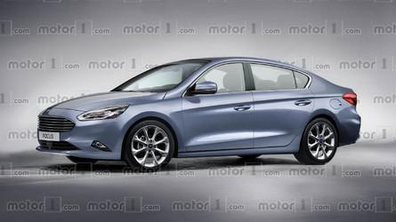 Projeção - Ford Focus Sedan 2019 será maior e mais sofisticado