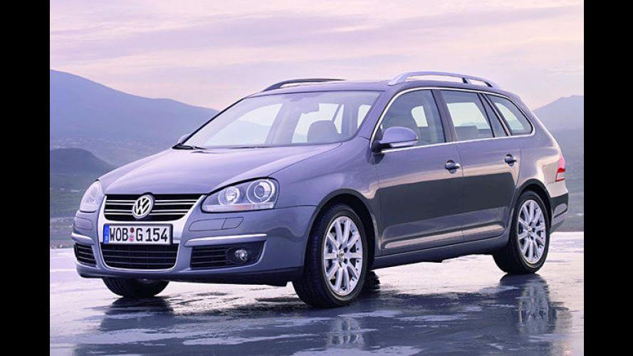 Volkswagen bringt den Dauerbrenner Golf als Variant