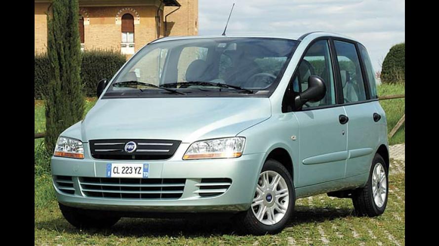 Fiat Multipla: Schönere Version ab 17.290 Euro zu haben