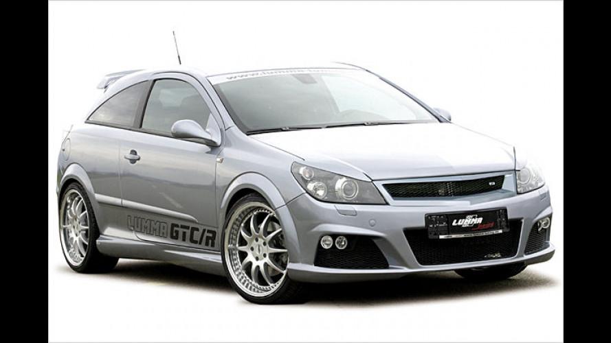 Winterlinger Tuner Lumma pimpt den Opel Astra GTC