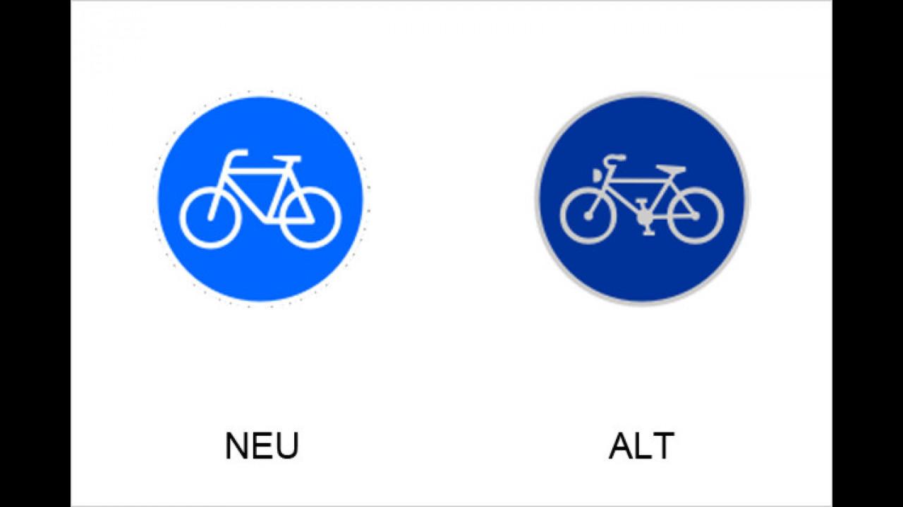 Sonderweg Radfahrer
