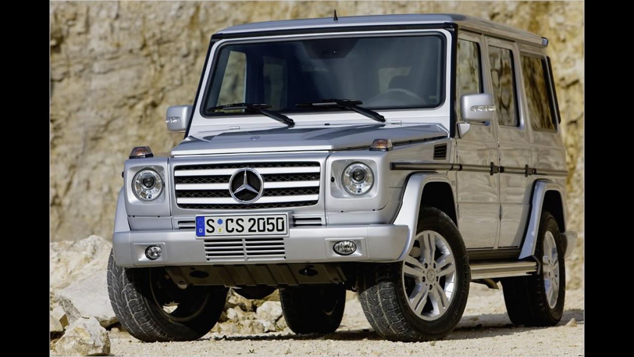 Mercedes G 500 Station-Wagen 7G-Tronic kurz
