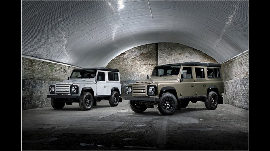 Alter Haudegen: Land Rover Defender ,Rough