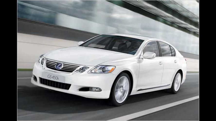 Lexus modifiziert V6- und V8-Motoren in GS und LS