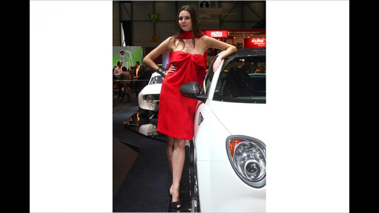 Tja, Autos und Damenkleider gibt es in vielen verschiedenen Farben