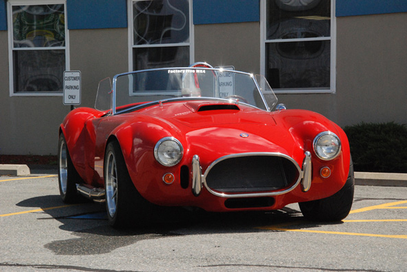 Factory Five Cobra Replica: One Hour with Massive Power