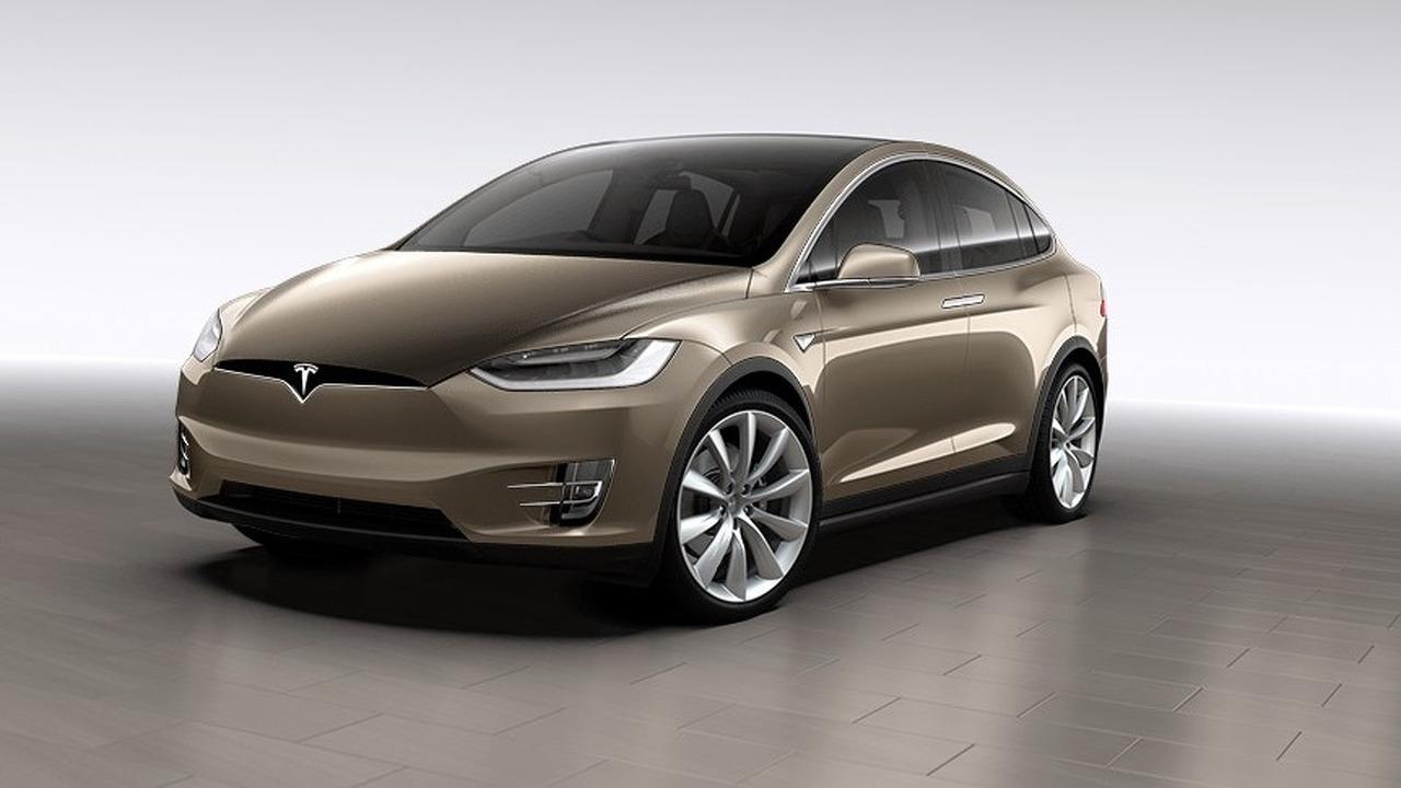 Tesla Model X screenshot from UK configurator