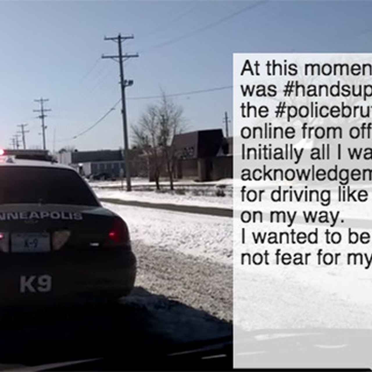 Watch What Happens When Someone Pulls Over a Cop for Speeding