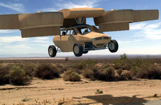Flying Cars May Be Coming, Just Not For Civilians