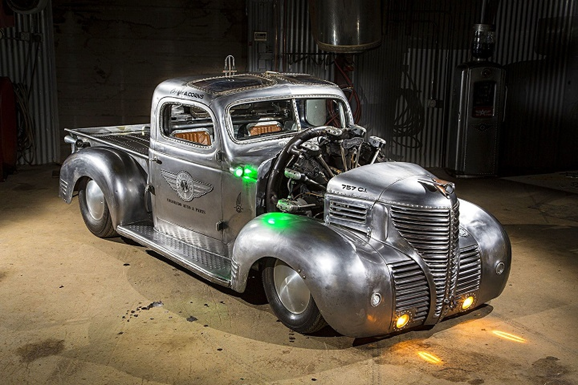 1939 Plymouth Pickup Hot Rod is an Apocalyptic, Airplane-Powered ...