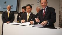 BMW Group, Carbon Motors, Sign Ceremony, Washington DC, 22.03.2010.
