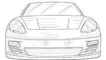 Porsche Panamera convertible Patent Drawing
