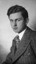 Portrait of young Ferry Porsche