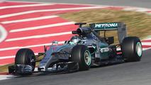 Nico Rosberg (GER), Mercedes AMG F1 W06, 20.02.2015, Formula One Testing, Day Two, Barcelona, Spain / XPB