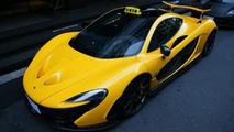 McLaren P1 gets taxi sign in Taiwan