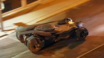 Batmobile caught during filiming for Batman Vs Superman: Dawn of Justice