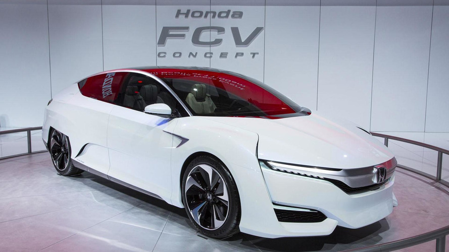 Honda FCV Concept arrives in Detroit, new pictures released