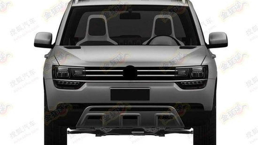 Possible Volkswagen Taigun production version shown in patent sketches