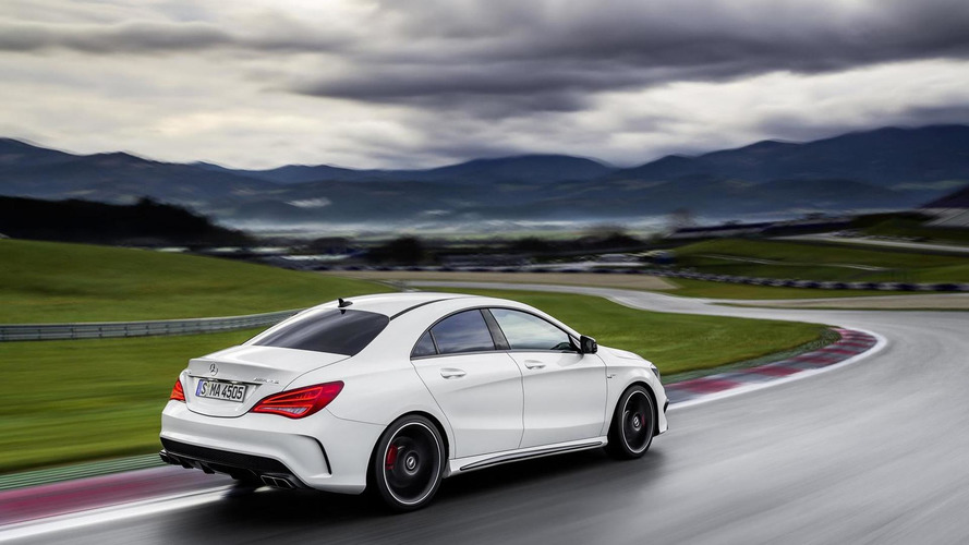 2014 Mercedes-Benz CLA 45 AMG storms into NYIAS