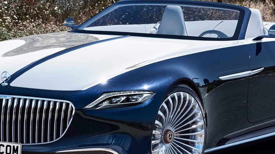 Vision Mercedes-Maybach 6 Cabriolet Production Rendering