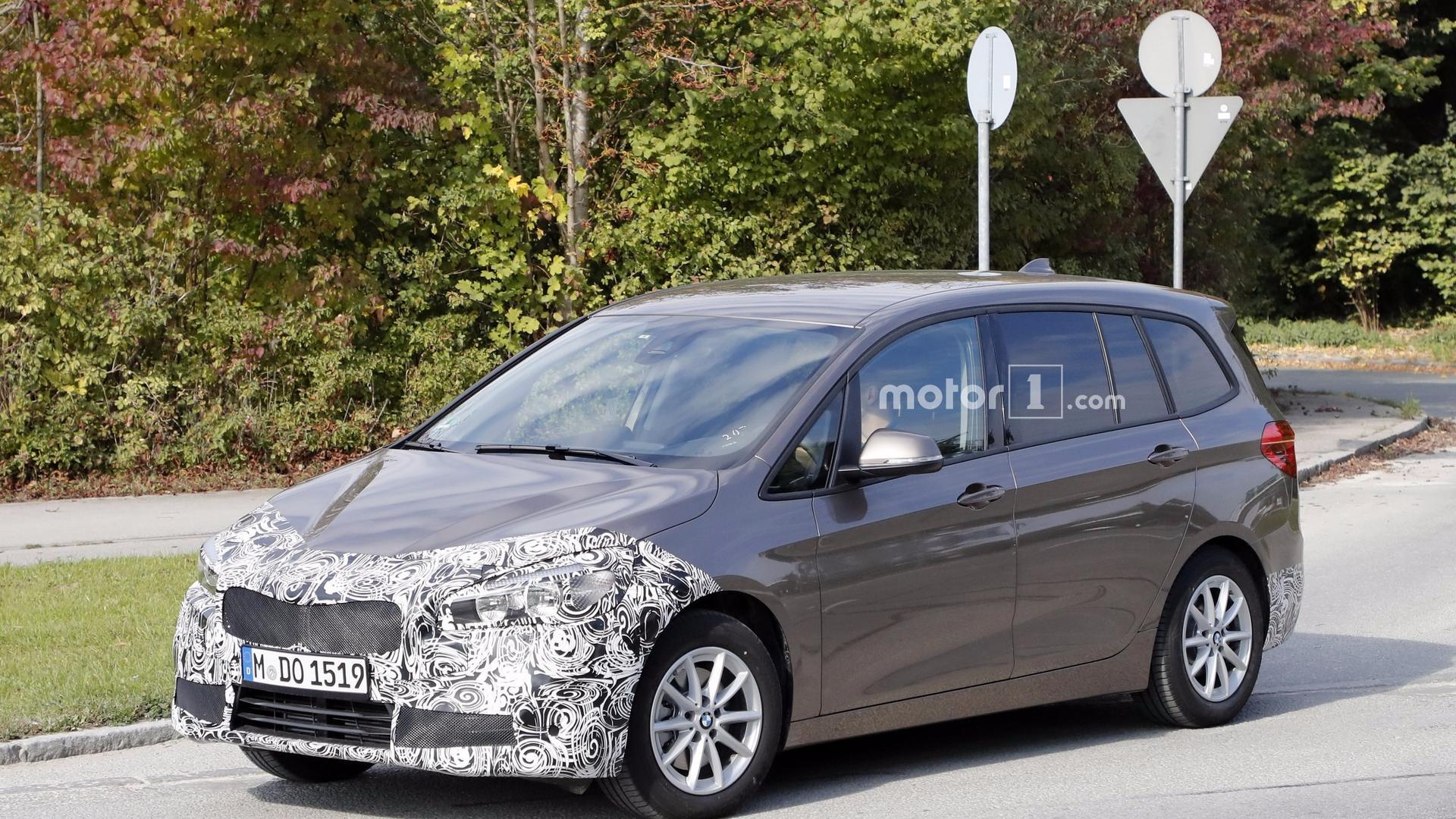 BMW Series Gran Tourer Spotted Masking Its Nose Job - Bmw 2 series gt