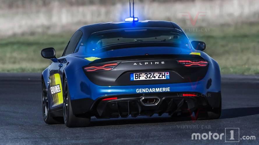 Alpine A110 Gendarmerie (2018)