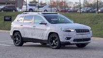 2018 Jeep Cherokee Headlights Spy Shots