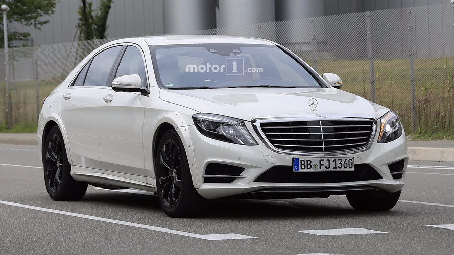2020 Mercedes S-Class Possibly Spied For The First Time