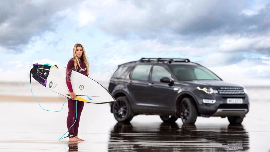 Jaguar Land Rover Transformed A Car Into A Surfboard