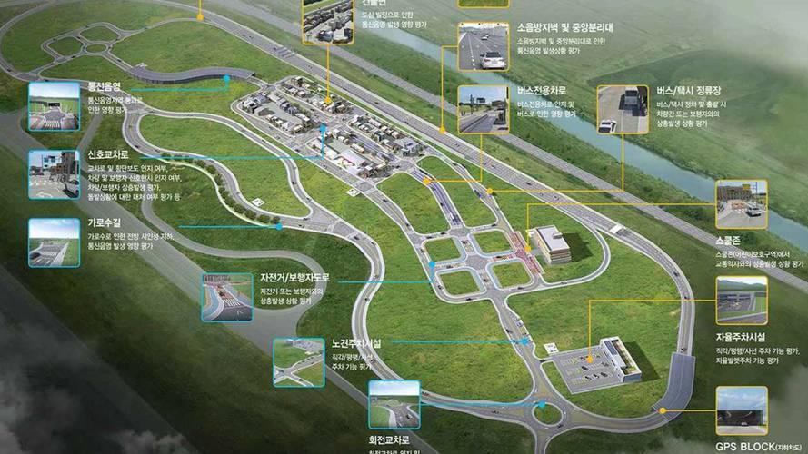 Korean government building fake city for autonomous testing