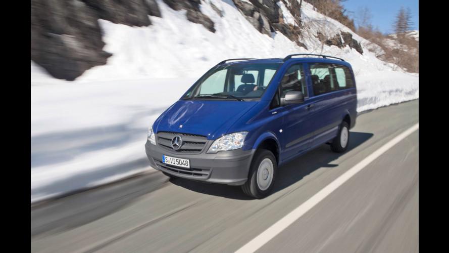 Nuovo Mercedes Vito 4x4