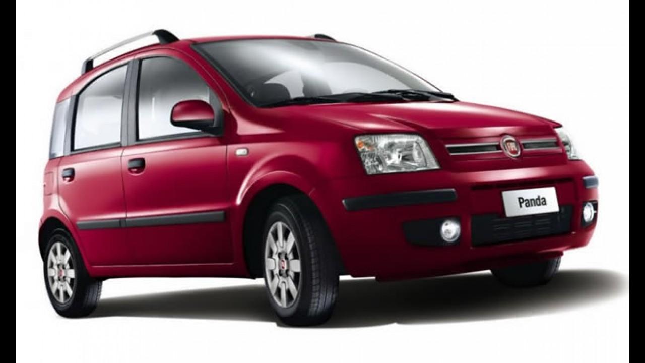 Itália: Vendas caem quase 16% em abril; Fiat Panda é o mais vendido