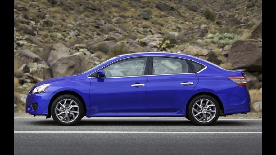 Nissan Sentra 2013 começa a ser produzido no México