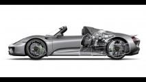 Galeria: Porsche 918 Spyder é revelado por completo - veja detalhes