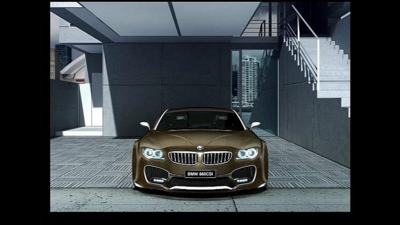 BMW Concept Série 8: primeiras projeções