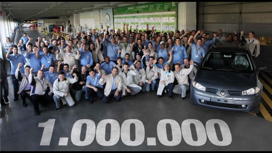 Marca histórica: Renault atinge 1 milhão de unidades produzidas no Brasil