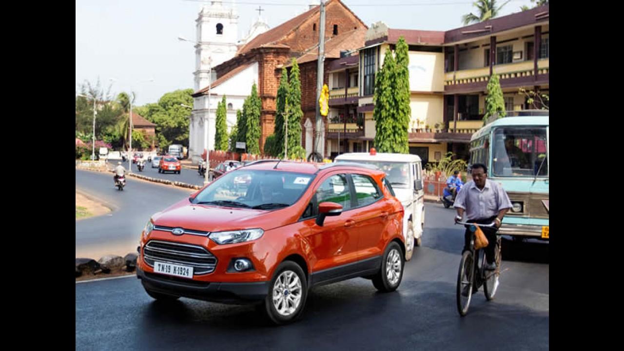 Ford chega a 1 milhão de veículos vendidos na Ásia-Pacífico em 2013