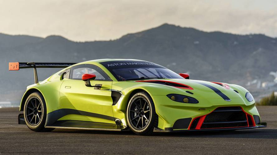 Aston Martin Reveals 2018 Vantage GTE Race Car