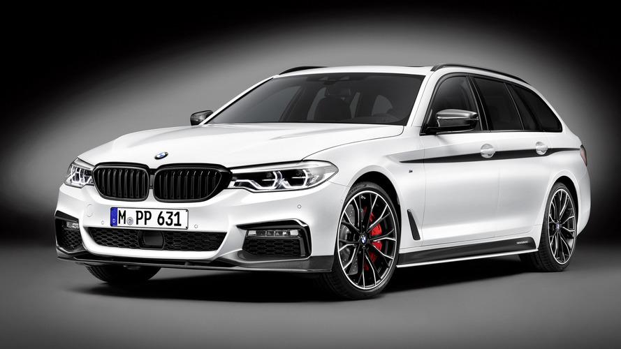 BMW 5 Serisi Touring, Cenevre için M Performance takımını giydi