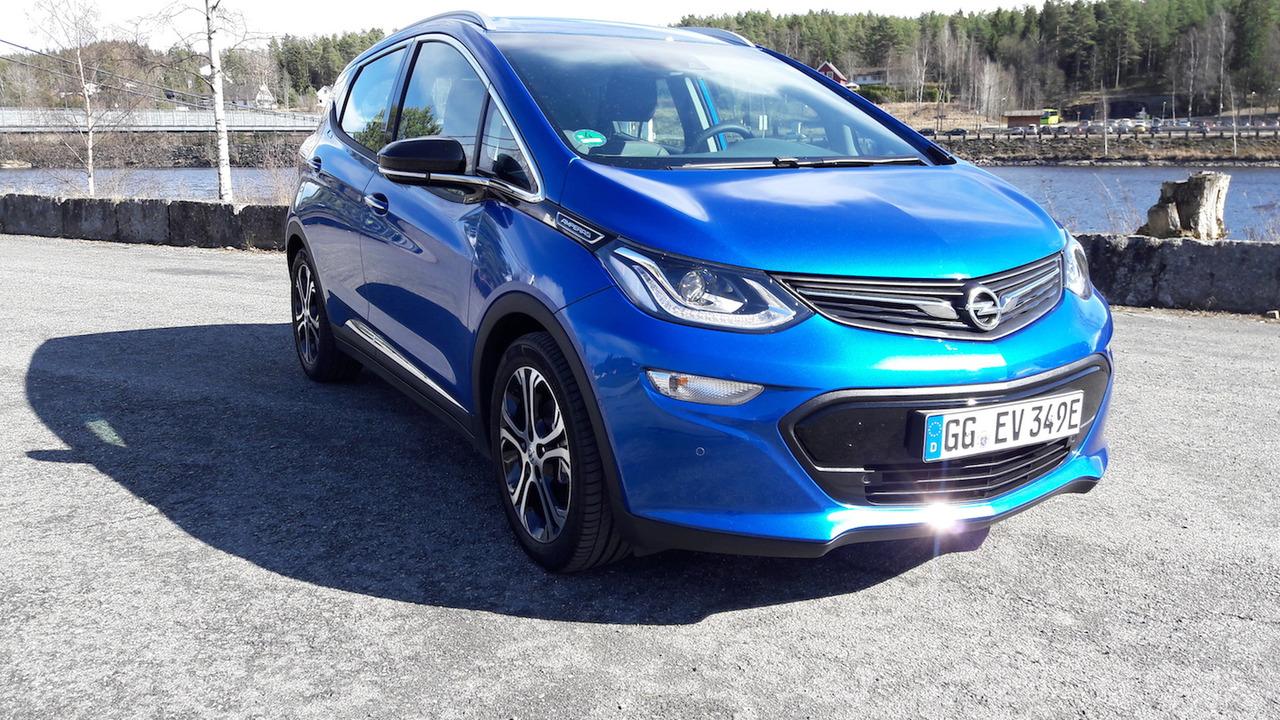 Prueba Opel Ampera-e 2017