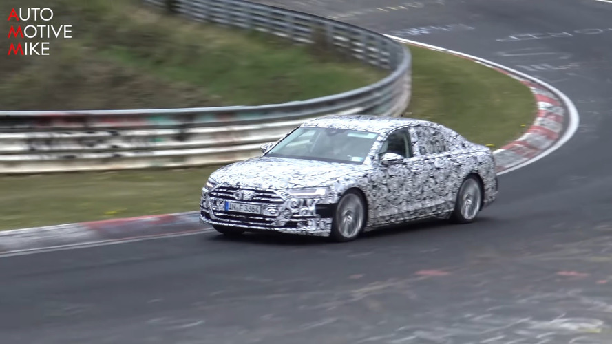 Watch 2018 Audi S8 Pushed Hard Around The Nürburgring