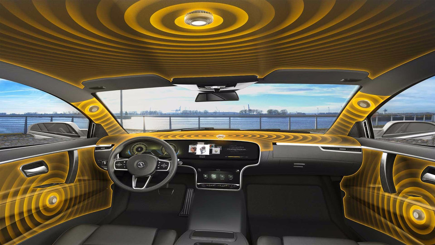 Continental's Speakerless Audio System Turns Cars Into Speakers