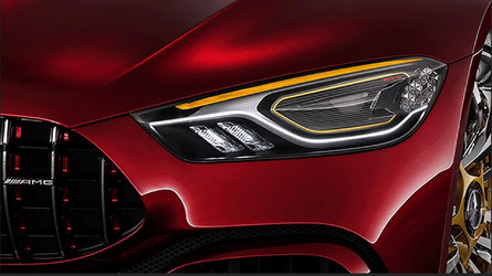 Mercedes-AMG GT Concept lights up in yet another teaser