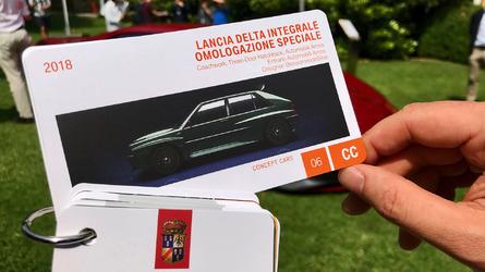 La Lancia Delta Integrale rivive (virtualmente) a Villa d'Este